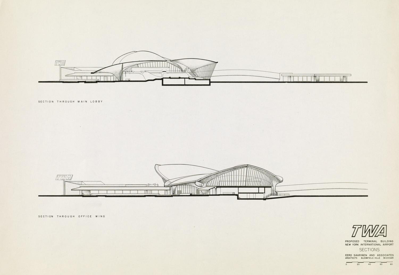 Twa Flight Center Eero Saarinen Amp Associates Atlas Of