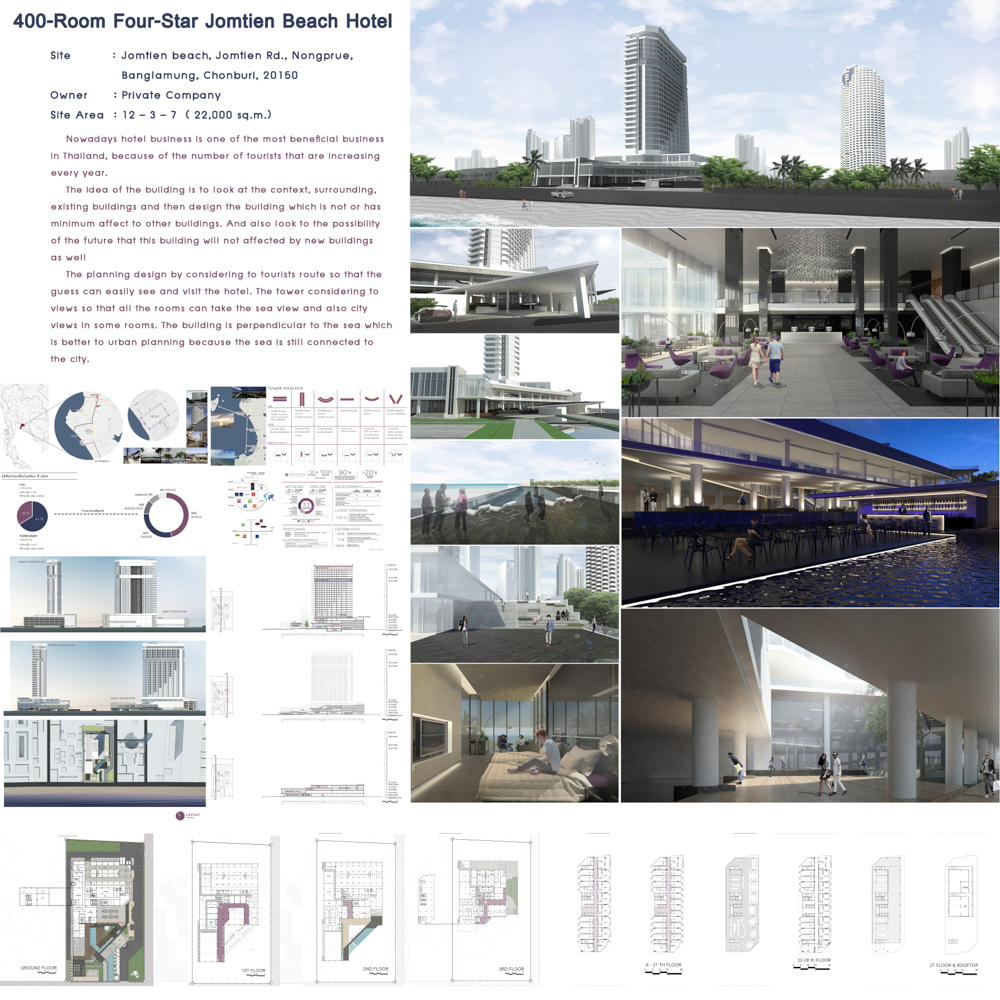 Resort and hotel 1 80 cu architecture thesis 2016 for Design hotel 4 stars