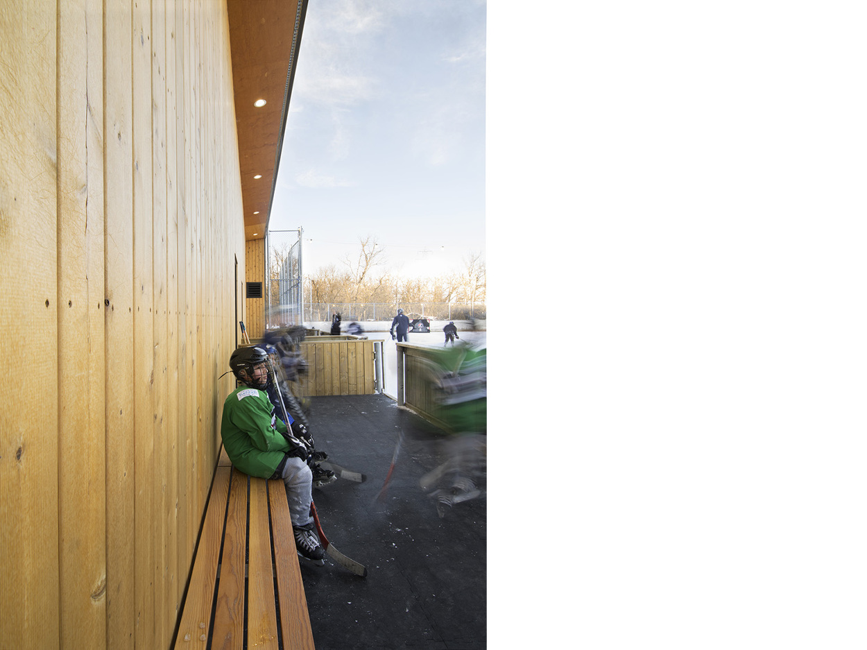 Camp Manitou Outdoor Hockey Facility 1x1 Architecture
